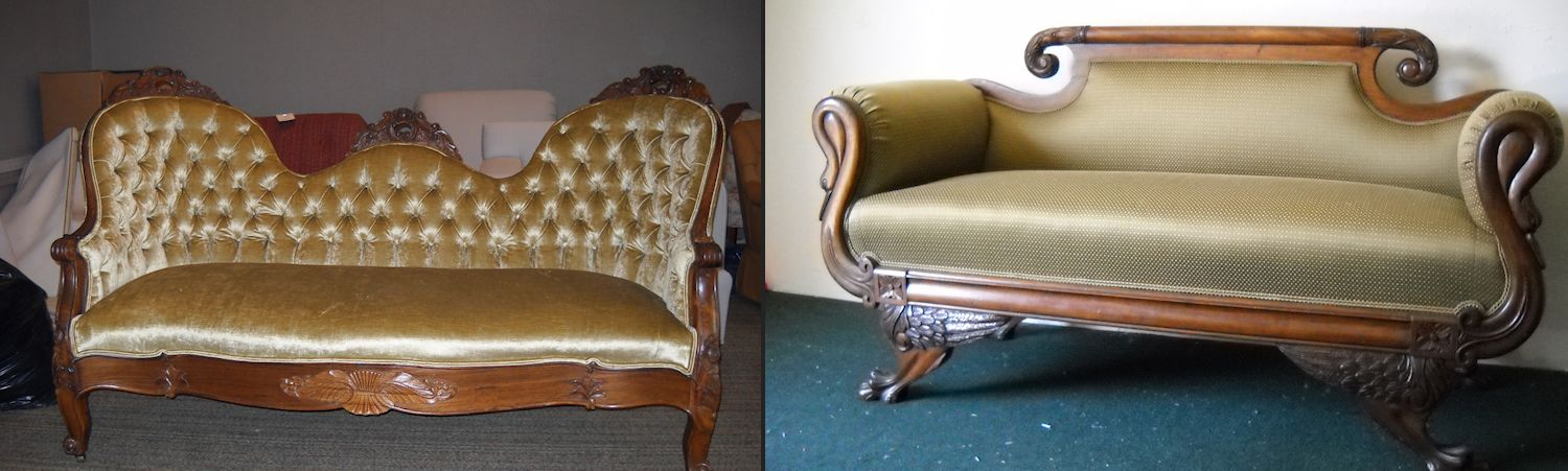 Antique Upholstery Service - Antique Furniture Repair Antique Upholstering Green Bay